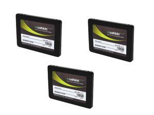 "SuperCombo Upgrade Pack: 3X Mushkin Enhanced ECO2 MKNSSDEC120GB 2.5"" 120GB SATA III MLC Internal Solid State Drive (SSD)"