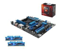 AMD FX-8350 Black Edition Vishera 8-Core CPU, ASUS M5A99FX PRO R2.0 MOBO, G.Skill Ripjaws X Series 8GB DDR3