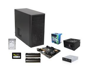 Intel Core i5-6400 6M Skylake Quad-Core 2.7 GHz, Asus Z170M-PLUS MOBO, Avexir Core 8GB DDR4 2400, Fractal Design Core 1000 ...