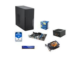 Intel G3258 2-Core 3.2GHz CPU, MSI H81M-P33 MOBO, 4GB RAM, WD Blue 1TB, ZOTAC GTX750Ti 2GB, Antec VP-450 Power Supply, Antec VSK-3000 Mini Tower Computer Case