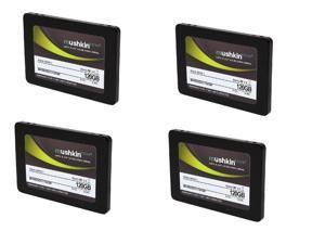"SuperCombo Storage Pack: 4X Mushkin Enhanced ECO2 2.5"" 120GB SATA III MLC Internal Solid State Drive ..."