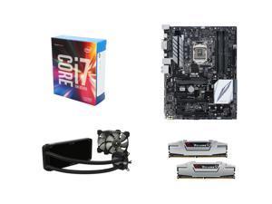 Intel Core i7-6700K Skylake Quad-Core 4.0GHz CPU, ASUS Z170-E LGA 1151 USB 3.1 ATX MOBO, G.SKILL Ripjaws V Series 16GB DDR4 ...