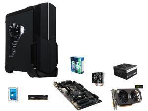 Intel Core i5-6600K Skylake Quad-Core 3.5GHz, GIGABYTE GA-Z170XP-SLI ATX, HyperX FURY 8GB DDR4 2400, Seagate Hybrid Drive ...