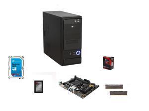 AMD A10-7850K Kaveri 3.7GHz Quad-Core APU w/ Radeon R7, ASUS A68 MOBO, Klevv 8GB MEM,  ADATA ...