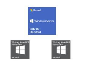 Windows Server Standard 2012 R2 with 10 user CALs