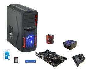 AMD FX-6300 Vishera 6-Core 3.5GHz, GIGABYTE GA-970A-DS3P ATX, HyperX FURY 8GB DDR3 1600, RAIDMAX Hybrid 530W, Seagate 1TB ...