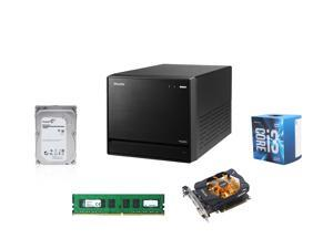 Shuttle SZ170R8 Mini, Skylake Support LGA 1151 / Booksize Barebone System, Kingston 8GB DDR4 2133 MEM, Intel Core i3-6100 ...