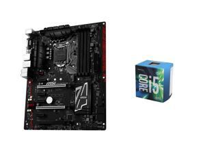 Intel Core i5-6600 Skylake Quad-Core 3.3 GHz LGA 1151 CPU, MSI Z170A Gaming Pro Carbon ATX MOBO