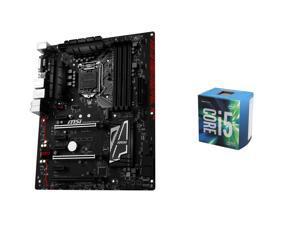 Intel Core i5-6600 Skylake Quad-Core 3.3 GHz LGA 1151 CPU, MSI Z170A Gaming Pro Carbon ATX MOBO