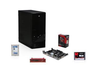 AMD 7860K Kaveri 3.7GHz 12 Core APU w/ Radeon R7 Series, GIGABYTE A78M FM2+ Mobo, G.SKILL 4GB MEM, WD 1TB HDD, Kingston V300 ...