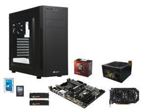 AMD FX-8350 Vishera 8-Core 4.0GHz, Gigabyte GA-970A-D3P MOBO, G.SKILL Sniper 8GB DDR3 1866, Rosewill ARC 550W PSU, Corsair ...