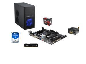Line-M Ninja Series GAG-9141M: AMD 7860K Quad-Core APU, A78M FM2+ MOBO, Rosewill mATX, HyperX Fury 8GB MEM, 1TB HDD, ARC ...