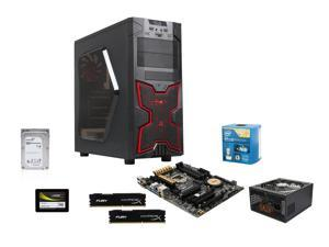 Intel Core i7-4790K Quad-Core 4.0GHz, ASUS Z97-A 3.1 LGA 1151, HyperX Fury 8GB DDR3 1600, Seagate Barracuda 1TB, Mushkin ...