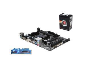 Upgrade Kit AG-3141K: AMD A6-5400K 3.6GHz Dual Core, GIGABYTE A78 Micro ATX, G.SKILL Ripjaws X 8GB 1600 RAM