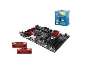 Upgrade Kit UKO-6141K: Intel Core i7-4790K Haswell Quad-Core 4.0GHz, Gigabyte GA-Z97A-SLI LGA 1150, Corsair Vengeance 16GB ...