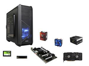 AMD FX-6300 Vishera 6-Core 3.5GHz, MSI 970A SLI Krait Edition ATX, Avexir 8GB DDR3 1600, ...