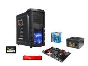 Pioneer Series EIG-6150M: Intel Core i7-4790K Quad-Core 4.0GHz, Gigabyte GA-Z97X-SLI ATX, HyperX Savage 8GB DDR3 1600, Lepa ...