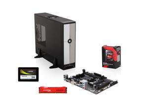 Pioneer Series EAA-3152S: AMD A10-7700K Trinity Quad-Core 3.4GHz, Gigabyte GA-F2A78M-HD2 FM2+ mATX, HyperX Savage 8GB DDR3 ...