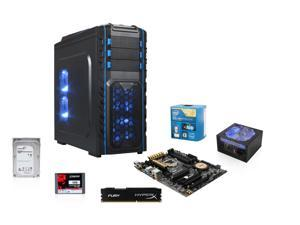 Intel Core i7 4790K 4.0GHz Haswell Quad-Core, ASUS Z97-A USB 3.1 MOBO, HyperX 8GB MEM, Kingston SSDNow V300 120GB SSD, Rosewill ...
