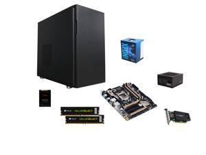 Intel Xeon E3-1270 SkyLake 3.6GHz, GIGABYTE GA-X150M-PRO ECC LAG 1151, Fractal Design R5 Black Case, PNY Quadro K1200 4GB ...