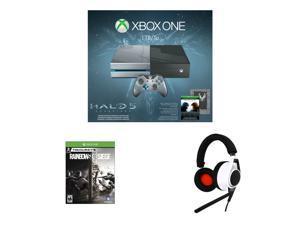 Xbox One 1TB Halo 5: Guardians Limited Edition Console Bundle, Plantronics Rig Flex 3.5mm ...