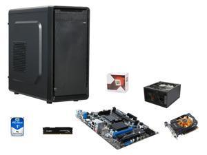 (Shell Shocker) SuperCombo Full Solution: AMD FX-4350 Vishera Quad-Core 4.2GHz, MSI 760GMA-P34 mATX, HyperX FURY 8GB ...