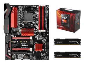 SuperCombo Shell Shocker Upgrade Kit: AMD FX-8320 Vishera 8-Core 3.5GHz (4.0GHz Turbro) Socket AM3+, ASRock ...