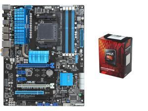AMD FX-6300 Vishera 6-Core 3.5GHz CPU, ASUS M5A99X EVO R2.0 AM3+ ATX MOBO