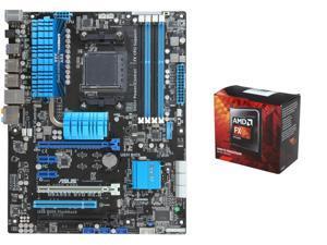 AMD FX-8320 Vishera 8-Core 3.5GHz (4.0GHz Turbo) CPU, ASUS M5A99X EVO R2.0 AM3+ ATX MOBO