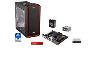 AMD A6-5400K Trinity Dual-Core 3.6GHz, ASUS A68HM-K mATX MOBO, HpyerX 8GB DDR3, WD Blue 1TB HDD, LOGISYS 480W PSU, ENERMAX ...