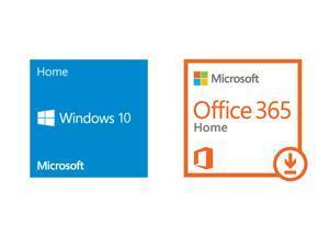 Windows 10 Home OEM & Office 365 Home  Premium – Download