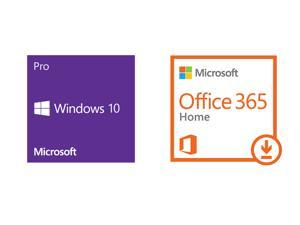 Windows 10 Pro OEM & Office 365 Home Premium - Download