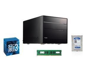 Shuttle SH170R6 Intel Socket LGA1151 Intel H170 Black Mini PC, Intel i3-6320 Dual-Core 3.9GHz LGA 1151, Kingston ValueRAM ...