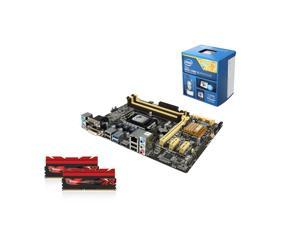 Upgrade Kit UIA-6155K: Intel Core i5-4690K 3.5GHz Quad-Core, ASUS B85 LGA 1150, G.Skill Trident X Series 16GB DDR3 2400
