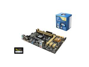 Upgrade Kit UIA-3152K: Intel Core i5-4690K 3.5GHz Quad-Core, ASUS B85 LGA 1150, Mushkin ECO2 120GB SSD