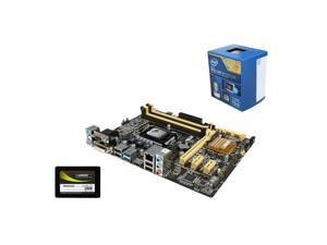Upgrade Kit UIA-3153K: Intel Core i5-4460 Haswell 3.2GHz Quad-Core, ASUS B85M-G LGA 1150, Mushkin ECO2 240GB SSD