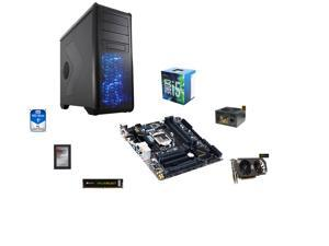 Intel Core i5-6500 Skylake Quad-Core 3.2GHz, GIGABYTE GA-H170M-D3H ATX, CORSAIR 8GB DDR4 2133, Rosewill BLACKHAWK CASE, Rosewill ...