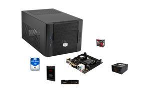 "AMD A10-7860K Quad-Core CPU, MSI A68HI AC FM2+ mITX MOBO, HpyerX 8GB DDR3 MEM, SanDisk Z400s 2.5"" 120GB SSD, WD Blue 1TB ..."