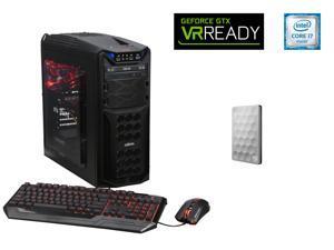 ABS Vayron GS ALI038 Gaming Desktop PC Intel Core i7 6700K (4.00 GHz) 16 GB DDR4 1 TB HDD 240 GB SSD Windows 10 Home 64-Bit, ...