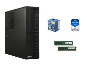 MSI ProBox130 2M-007BUS Intel 4th Gen (Haswell) Socket LGA 1150 Intel H81 Integrated ...