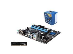 Intel i5-4460 4-Core 3.2GHz CPU, ASRock H97M Anniversary MOBO, HyperX Fury 4GB RAM