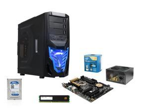Intel Core i7-4790K 4.0GHz Quad-Core CPU, ASUS Z97-A/USB3.1 MOBO, Mushkin Enhanced Stealth 8GB MEM, WD Blue 1TB HDD, Rosewill ...