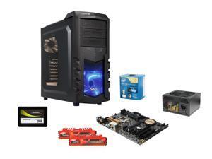 Intel i7-4790K Quad-Core 4.0Ghz LGA 1150, ASUS Z97-E/USB3.1 Z97, LEPA Smok Series ATX Case, Rosewill ARC-M650 650W PSU, G.SKILL ...