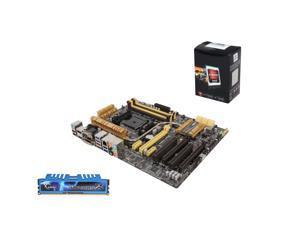 AMD A6-5400K Dual-Core 3.6Ghz, ASUS A88X mATX, G,SKILL Rjpjaws X Series 8GB MEM