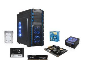 Intel Core i7 4790K 4.0GHz Haswell Quad-Core, ASUS Z97-A USB 3.1 MOBO, HyperX 8GB MEM, HyperX Fury 120GB SSD, Rosewill Stallion ...