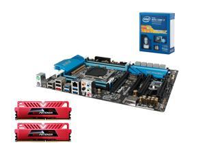 NEW!! Haswell-Extreme Bundle: Intel Core i7-5820K 3.3GHz Six Core, GeIL Evo POTENZA 16GB(2X 8GB) RAM DDR4 2400, ASRock X99 ...