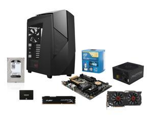 NZXT Noctis Build: Intel Core i7-4790K Devil's Canyon 4.0GHz Quad-Core CPU, ASUS Z97-A/USB 3.1 ATX MOBO, Hyperx Fury 8GB ...