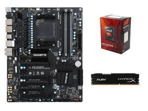 Shell Shocker Gaming SuperCombo Upgrade Kit: AMD FX-8300 Vishera 8-Core CPU, GIGABYTE GA-990FXA-UD3 R5 ATX ...
