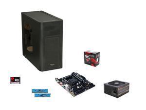 AMD A10-7860K w/ AMD Quiet Cooler Quad-Core Socket FM2+, GIGABYTE GA-F2A88XM-D3HP mATX MOBO, G.SKILL Ares 8GB DDR3 1600 MEM, ...