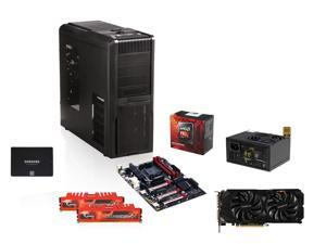 AMD FX-8350 Black Edition Vishera 8-Core, GIGABYTE GA-990FX-Gaming ATX, G.SKILL Ripjaws X Series 8GB DDR3 1866, SAMSUNG 850 ...